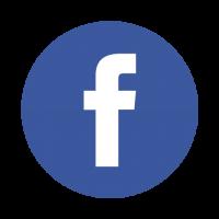 Facebook rond logo