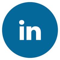Linkedin rond logo
